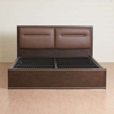 Valencia Queen Size Bed With Hydraulic Box Storage-150X195 cm